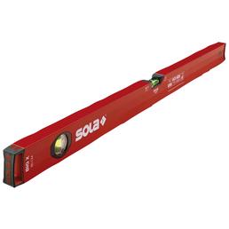 SOLA Wasserwaage, Rot, LxBxH: 80 x 5,2 x 2,5 cm