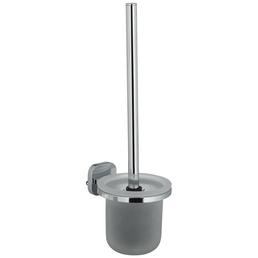 TIGER WC-Bürsten & WC-Garnituren »Ramos«, Glas/Edelstahl, gefrostet/poliert, chromfarben/weiß