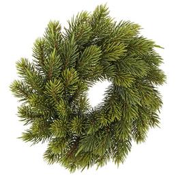 CASAYA Weihnachtskranz »Schwarzwald«, Ø 24 cm, grün, Kunststoff