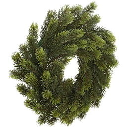 CASAYA Weihnachtskranz »Schwarzwald«, Ø 35 cm, grün, Kunststoff