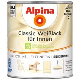 alpina Weißlack »Classic«, hellelfenbein, seidenmatt