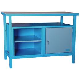 GÜDE Werkbank, Breite: 120 cm, mit 0 Schublade und 1 Tür