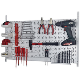 DIY ELEMENT SYSTEM Werkzeug-Lochwand, Stahl, , 0 Fachböden