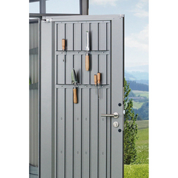 BIOHORT Werkzeughalter »Gerätehäuser«, Stahlblech, B x T x H: 51,5 x 5,4 x 3,7 cm