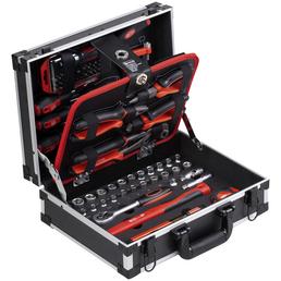 CONNEX Werkzeugkoffer »COX566101«, Aluminium, bestückt, 100-teilig