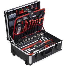 CONNEX Werkzeugkoffer, Kunststoff, bestückt, 229-teilig