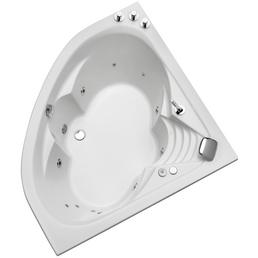 OTTOFOND Whirlpool »Cascade«, BxHxL: 140 x 43 x 140 cm, weiß