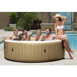 INTEX Whirlpool »PureSpa 85«, ØxH: 216 x 63,18 cm, beige, 6 Sitzplätze