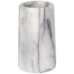 WENKO Zahnputzbecher »Onyx«, Marmor, weiß