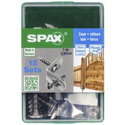 SPAX Zaunverbinderschraube, T-STAR plus, 24 Stk., 7 x 35 mm