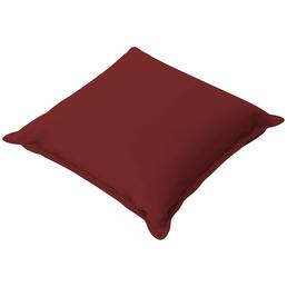 DOPPLER Zierkissen »Koroma«, rot, Uni, BxL: 40 x 40 cm