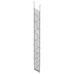 BELLISSA Zwischenpfosten »PALOfix 200«, HxL: 200 x 26,5 cm, Stahl