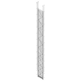 BELLISSA Zwischenpfosten »PALOfix 200«, HxL: 220 x 26,5 cm, Stahl
